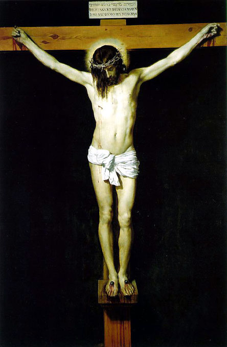 Christ on the Cross by Velasquez